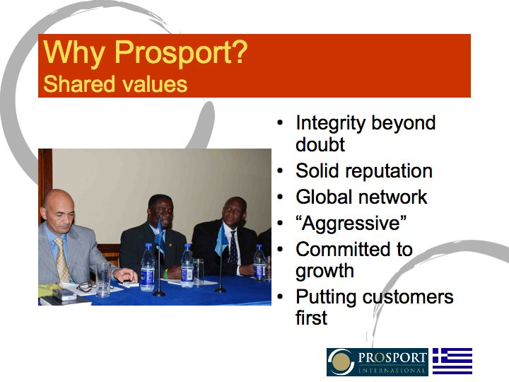 Why Prosport?