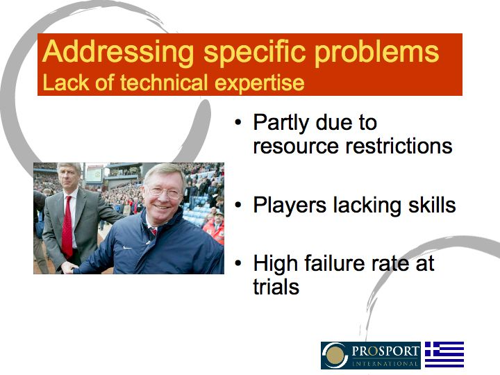 Lack of expertise