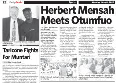 Herbert Mensah Meets Otumfuo